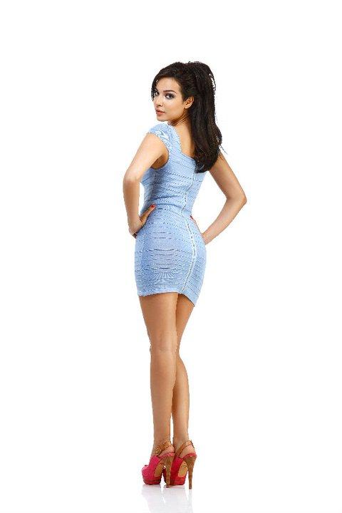 Miss Lebanon 2004 Nadine Njeim Daily Mail
